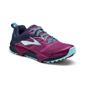 נעליים ברוקס לנשים Brooks Cascadia 12 - סגול/כחול