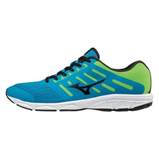 נעליים מיזונו לגברים Mizuno EZRUN - כחול/ירוק