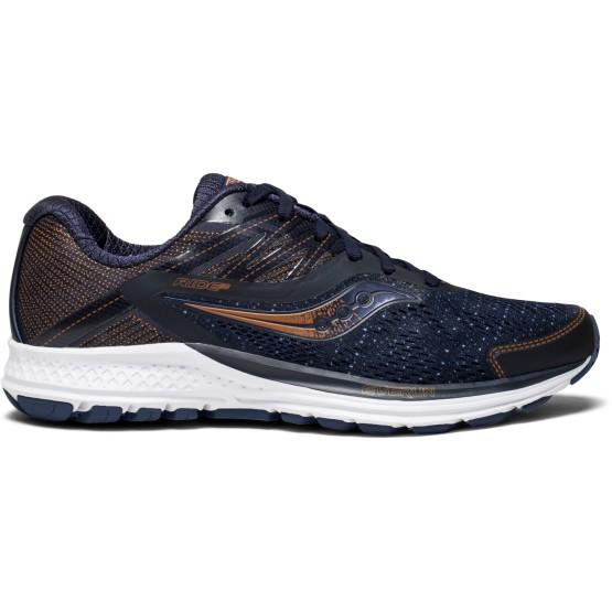 נעליים סאקוני לנשים Saucony Ride 10 - כחול/כתום