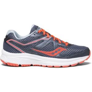 נעליים סאקוני לנשים Saucony GRID COHESION TR11 - אפור/אדום