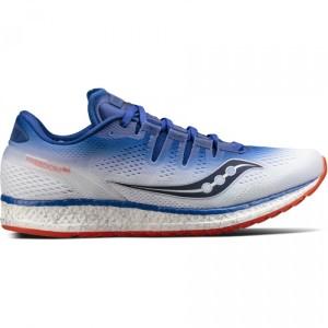 נעליים סאקוני לגברים Saucony FREEDOM ISO - כחול/כתום
