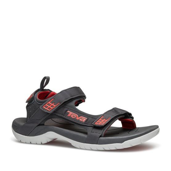 נעליים טיבה לגברים Teva Tanza - אפור/אדום