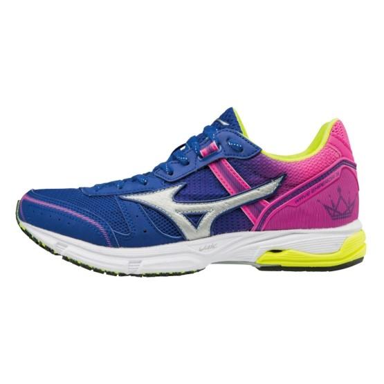 נעלי כדורסל מיזונו לנשים Mizuno WAVE EMPEROR - ורוד/כחול