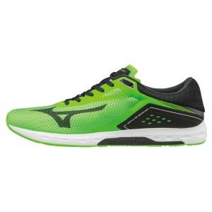 נעליים מיזונו לגברים Mizuno WAVE SONIC - ירוק