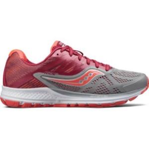 נעליים סאקוני לנשים Saucony Ride 10 - אפור/אדום