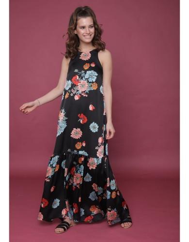 מוצרי LILAMIST לנשים LILAMIST Turkey - שחור פרחוני