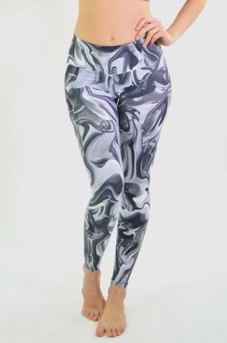 מוצרי ריו גים לנשים Rio Gym Fabia Legging - שחור/אפור