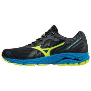 נעליים מיזונו לגברים Mizuno WAVE INSPIRE 14 - שחור/ירוק