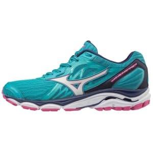 נעליים מיזונו לנשים Mizuno WAVE INSPIRE 14 - ורוד/טורקיז