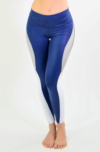 מוצרי ריו גים לנשים Rio Gym Nadia Legging - כחול