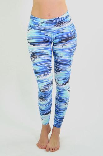 מוצרי ריו גים לנשים Rio Gym Clara Legging - כחול/שחור