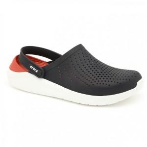 מוצרי Crocs לנשים Crocs LiteRide Clog - שחור/אדום
