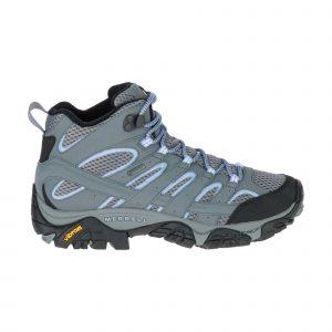 נעלי טיולים מירל לנשים Merrell Moab 2 Mid Gore Tex - תכלת