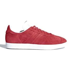נעלי הליכה Adidas Originals לנשים Adidas Originals GAZELLE - לבן/אדום