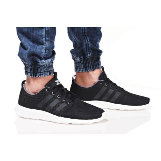 נעליים אדידס לגברים Adidas CF SWIFT RACER - שחור/לבן