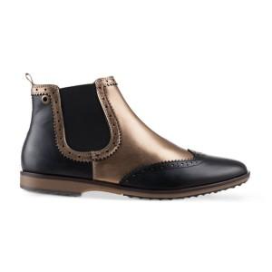מגפיים נו ברנד לנשים NOBRAND Flat - שחור