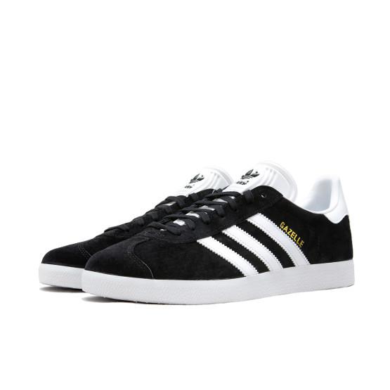 נעלי סניקרס אדידס לגברים Adidas Originals GAZELLE - שחור