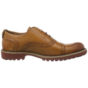 נעליים אלגנטיות נו ברנד לגברים NOBRAND Gas - חום