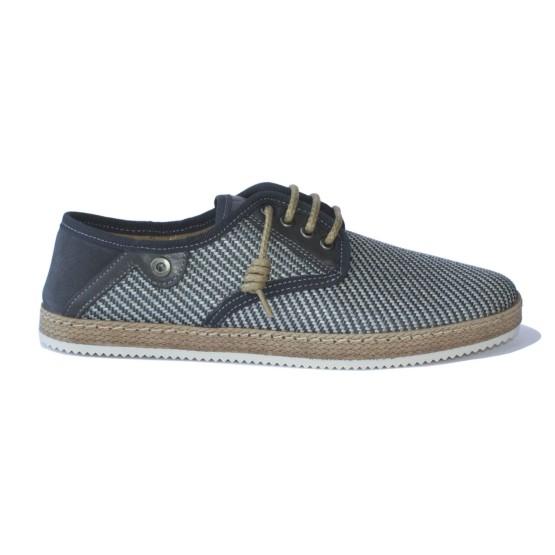 נעליים נו ברנד לגברים NOBRAND Bay - אפור/כחול