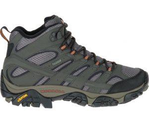 נעלי טיולים מירל לנשים Merrell Moab 2 Mid Gore Tex - אפור