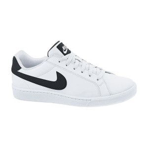 מוצרי נייק לגברים Nike COURT  MAJESTIC LEATHER - לבן/שחור