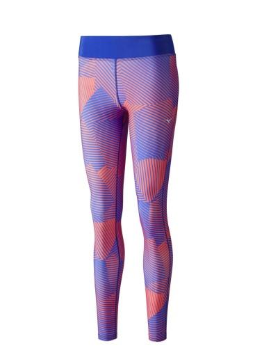 מוצרי מיזונו לנשים Mizuno PHENIX LONG TIGHTS - ורוד/כחול
