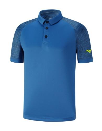 מוצרי מיזונו לגברים Mizuno PRINTED POLO - כחול