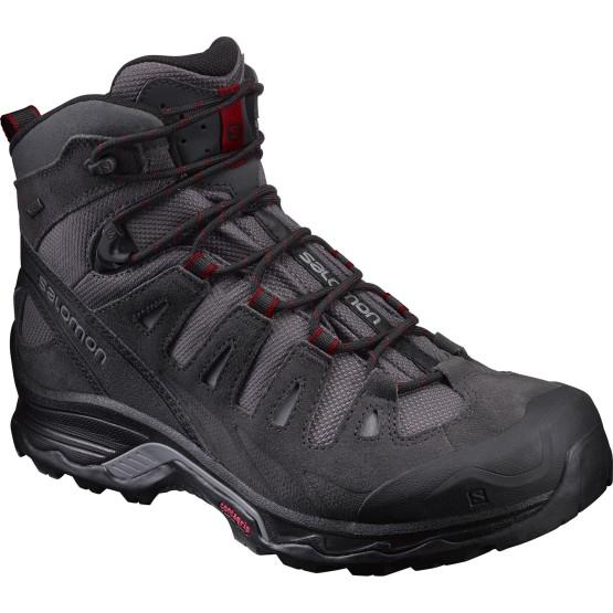 נעלי טיולים סלומון לגברים Salomon Quest Prime GTX - אפור