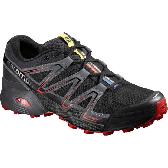 נעלי טיולים סלומון לגברים Salomon Speedcross Vario - שחור/אדום
