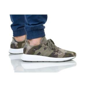 נעלי הליכה Adidas Originals לגברים Adidas Originals SWIFT RUN - ירוק בהיר