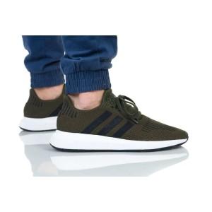 נעלי הליכה Adidas Originals לגברים Adidas Originals SWIFT RUN - שחור/ירוק