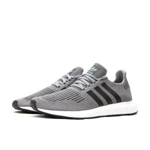 נעלי הליכה Adidas Originals לגברים Adidas Originals SWIFT RUN - אפור