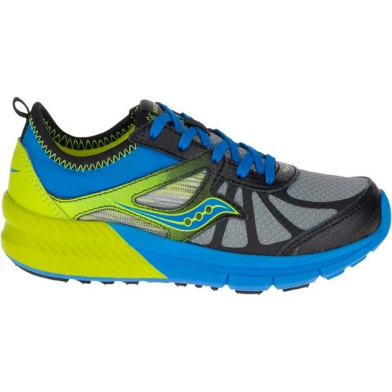 נעליים סאקוני לילדים Saucony VOLT - כחול/צהוב