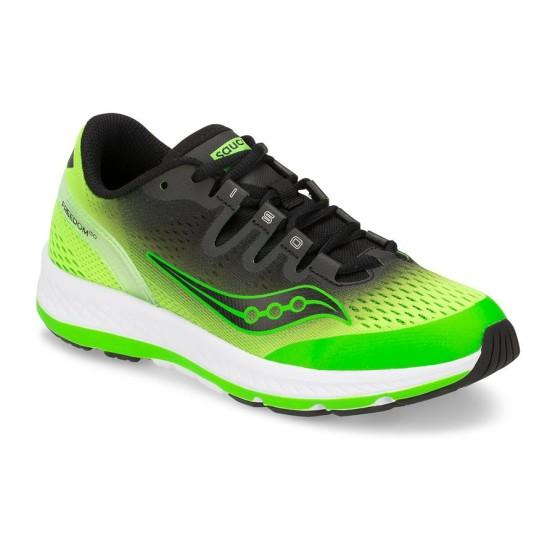 נעליים סאקוני לילדים Saucony FREEDOM ISO - שחור/ירוק