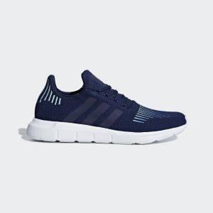 נעליים אדידס לגברים Adidas SWIFT RUN - כחול/לבן