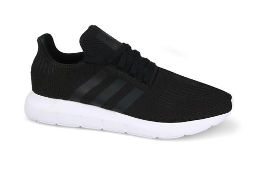 נעלי הליכה Adidas Originals לגברים Adidas Originals SWIFT RUN - שחור/לבן