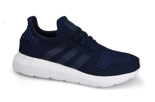 נעלי הליכה Adidas Originals לגברים Adidas Originals SWIFT RUN - כחול כהה