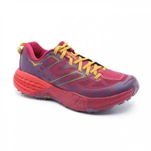 נעליים הוקה לנשים Hoka One One Speedgoat 2 - אדום/סגול