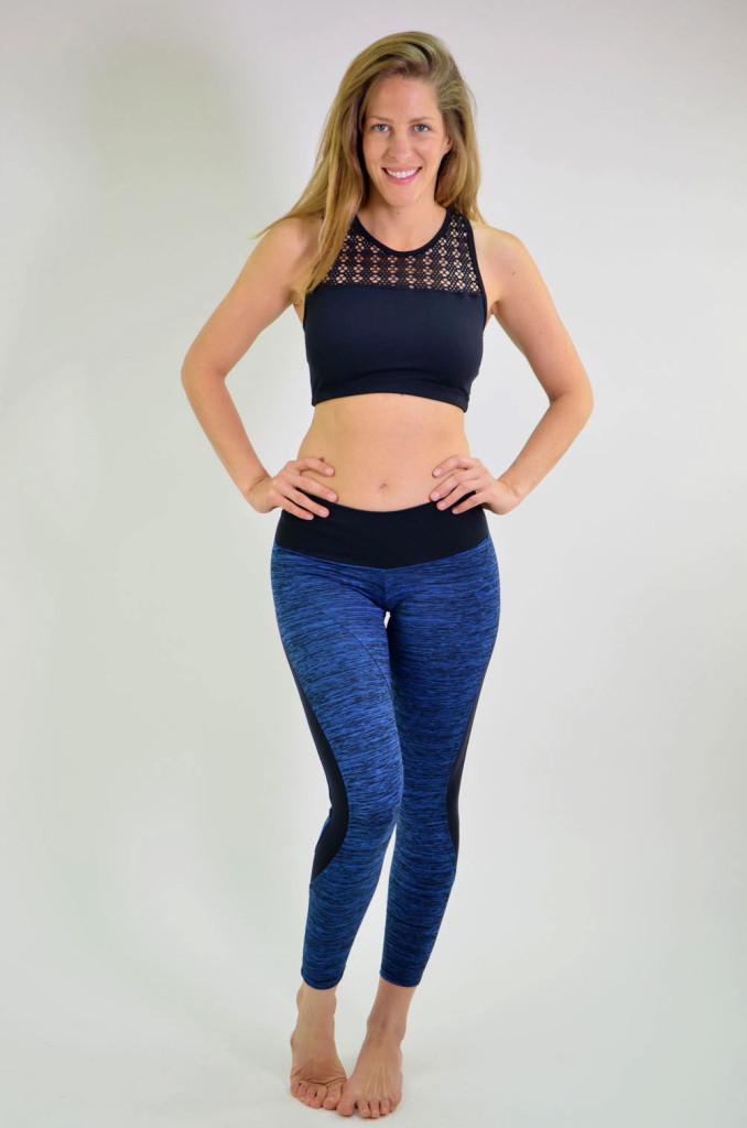 ביגוד ריו גים לנשים Rio Gym Michelle Legging - כחול