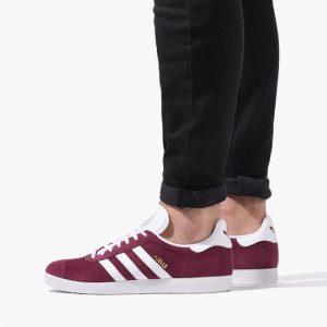 נעלי סניקרס אדידס לגברים Adidas Originals GAZELLE - בורדו