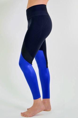 ביגוד ריו גים לנשים Rio Gym Sula Legging - שחור/כחול
