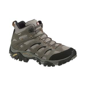 נעלי טיולים מירל לגברים Merrell Moab Mid - חום