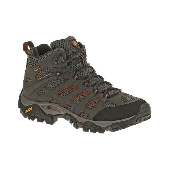 נעלי טיולים מירל לגברים Merrell Moab Mid - אפור