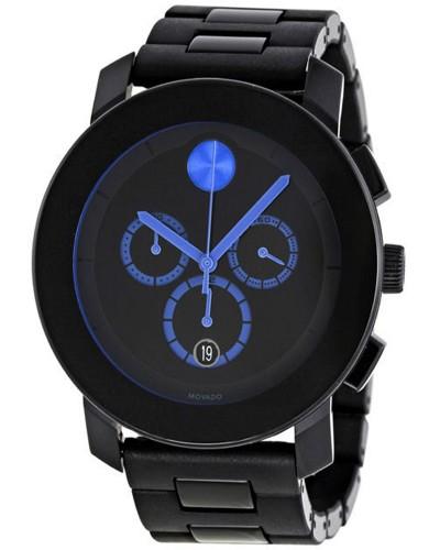 מוצרי מובאדו לגברים Movado Bold TR90 - שחור/כחול