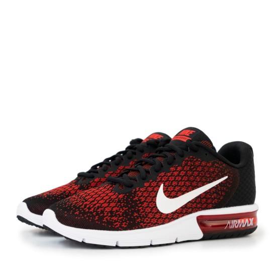 נעליים נייק לגברים Nike Air Max Sequent 2 - שחור/אדום