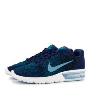 נעליים נייק לגברים Nike Air Max Sequent 2 - כחול
