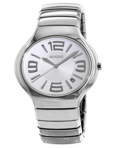 מוצרי ראדו לגברים Rado TRUE - כסף