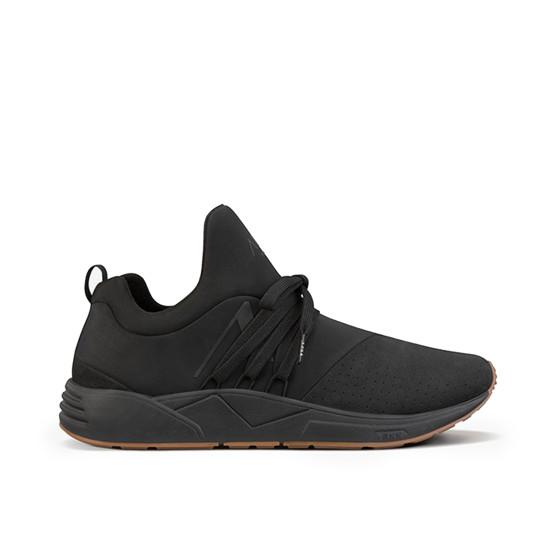 נעליים ארק קופנהגן לגברים Arkk Copenhagen Raven Nubuck - שחור