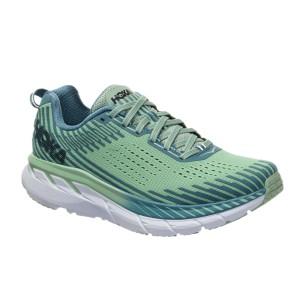 נעלי הליכה הוקה לנשים Hoka One One Clifton  5 - ירוק בהיר