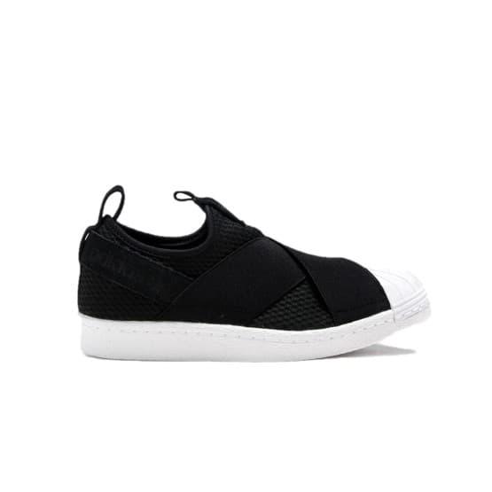 נעלי הליכה Adidas Originals לנשים Adidas Originals SUPERSTAR SLIPON - שחור